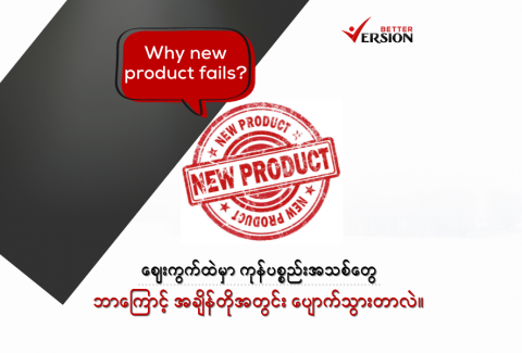 Website Blog - Why new product fail
